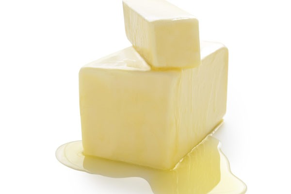 stacked and melting butter