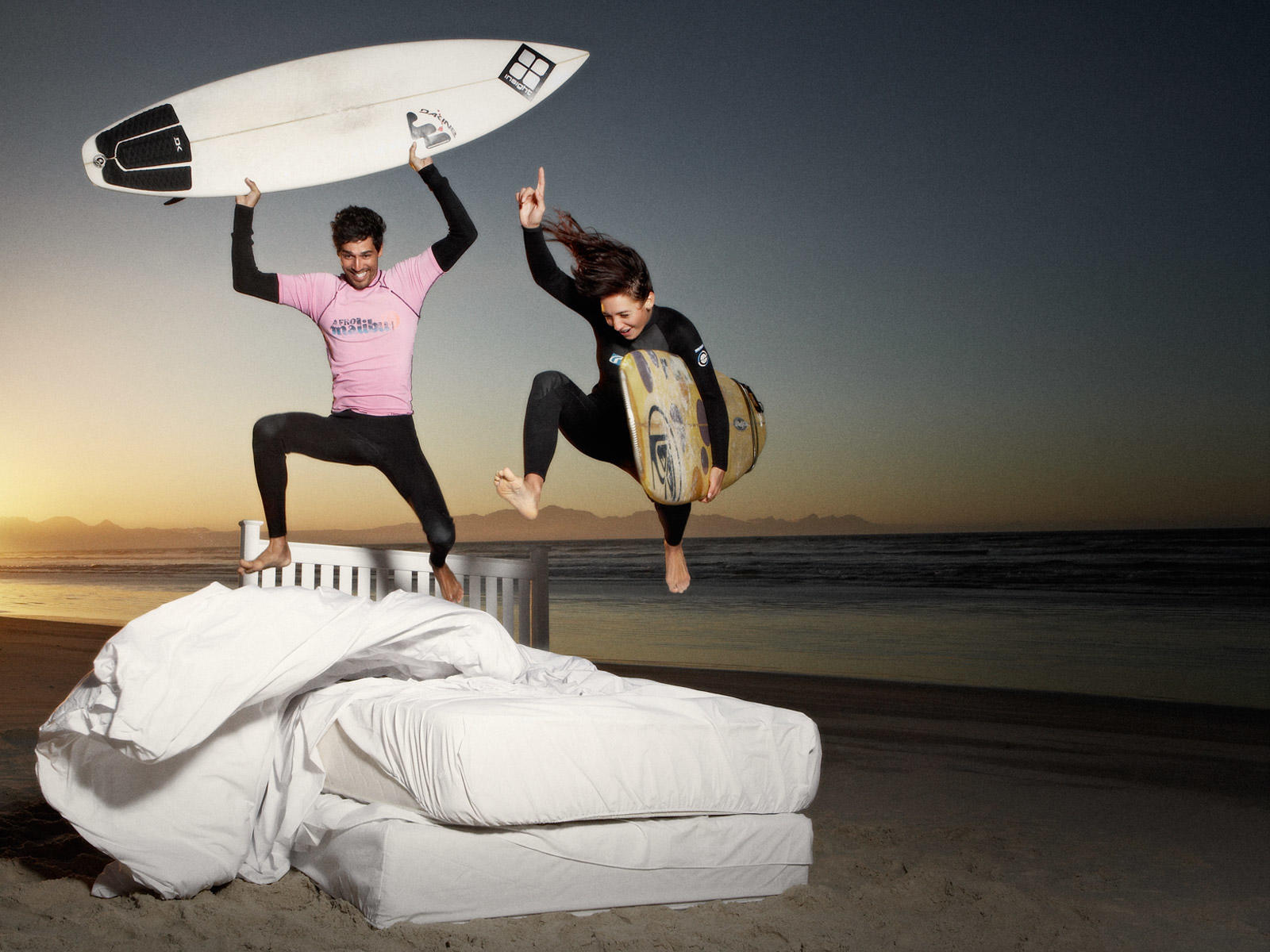 bed jumping