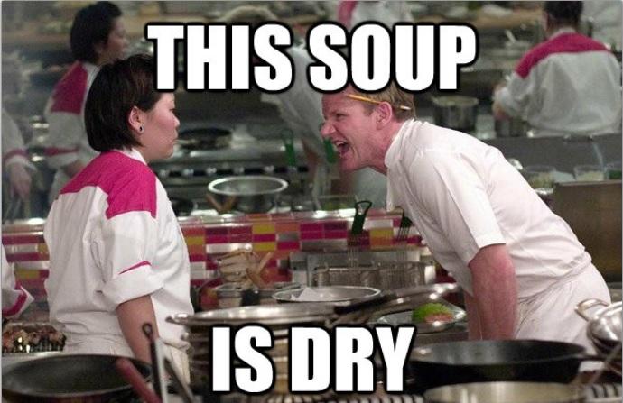 Gordon Ramsay soup meme